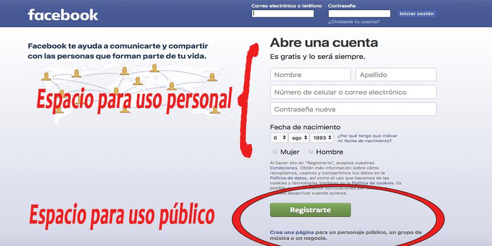 Crea tu cuenta en Facebook ya sea personal o privada.png