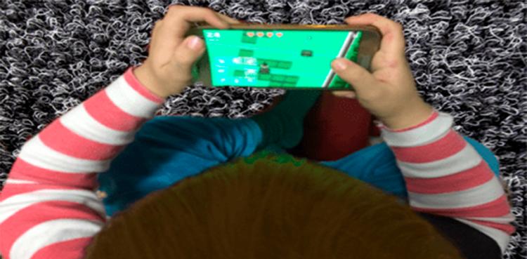 Los niños frente a los dispositivos digitales