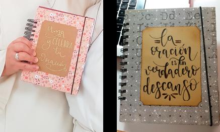 Diseños de cuadernos artesanales