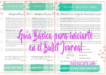 Guía básica para iniciarte en el Bullet Journal