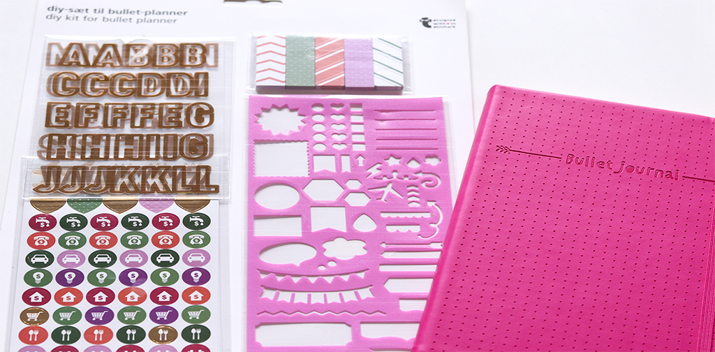 DIY kit para Bullet Journal de Tiger