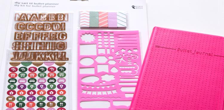 DIY kit para Bullet Journal de Tiger