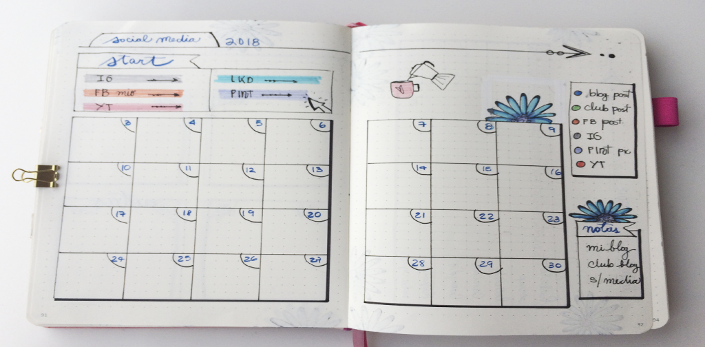 Social Media Planning en Bullet Journal.png