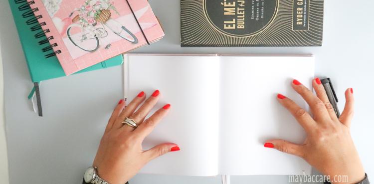 reflexiones antes de comenzar con tu bullet journal